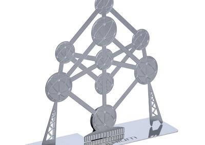 Atomium porte photo