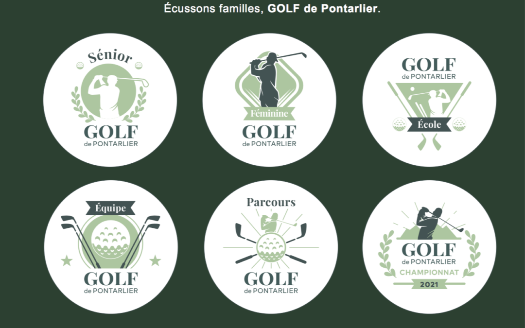 Écussons Golf de Pontarlier